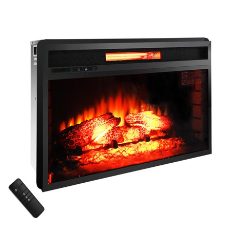 "Zimtown Electric Fireplace Heater,Flame Electric 1500W Fireplace with 26"" Electric Fireplace Insert"