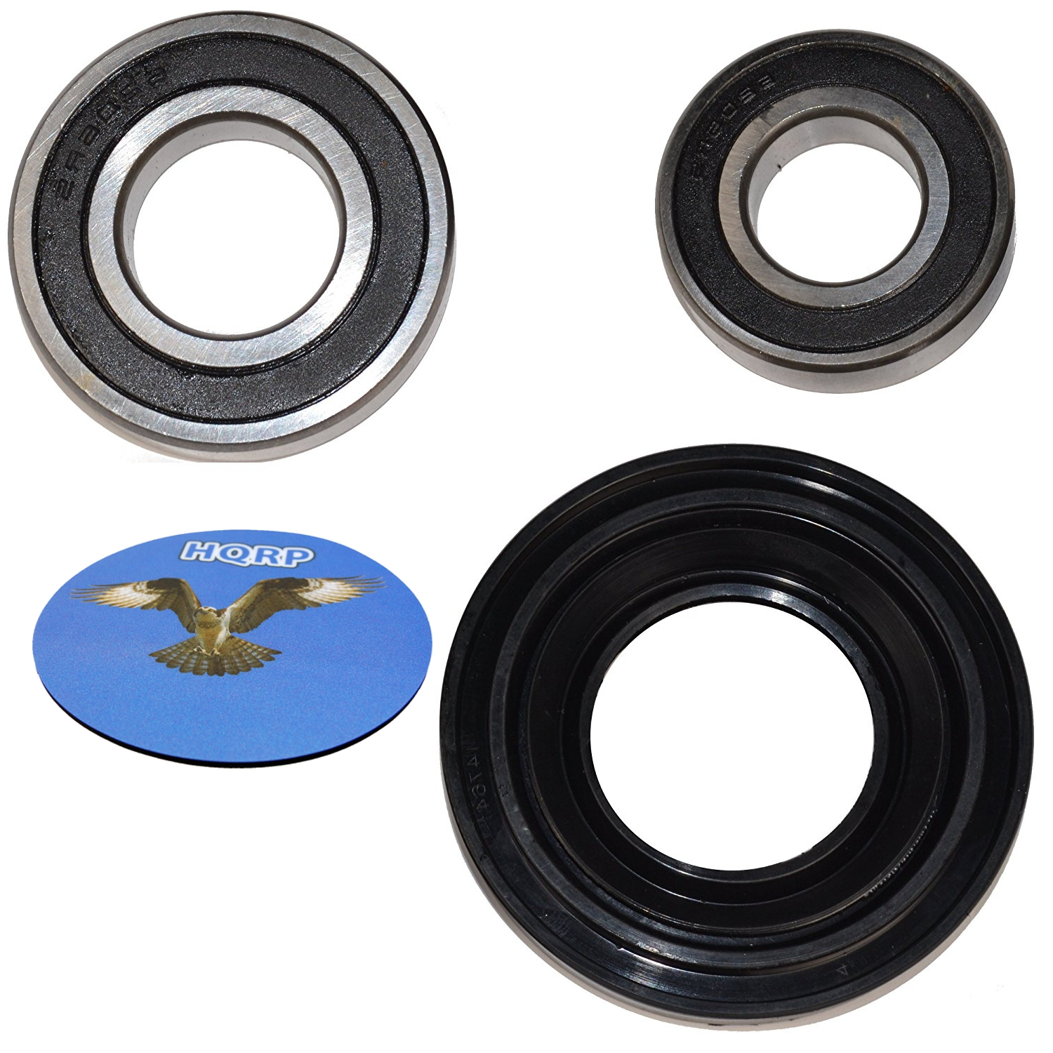 HQRP Bearing and Seal Kit for Whirlpool Duet Series Front Load Washer Tub