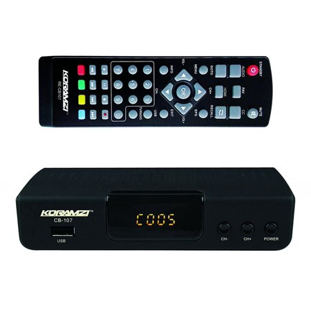 Koramzi Hdtv Digital Tv Converter Box Atsc With Usb Input For Recording And Media Player  Latest Edition  Cb 107