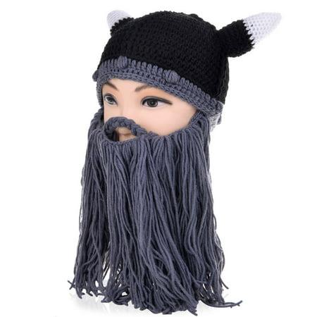 VBIGER - VBIGER Beard Hat Beanie Hat Knit Hat Winter Warm Octopus Hat  Windproof Funny For Men   Women - Walmart.com 26334483b