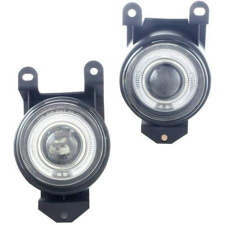 Fog Light For 92 99 Pontiac Bonneville Clear Lens Pair