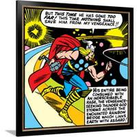 Marvel Comics Retro Style Guide: Thor Framed Print Wall Art