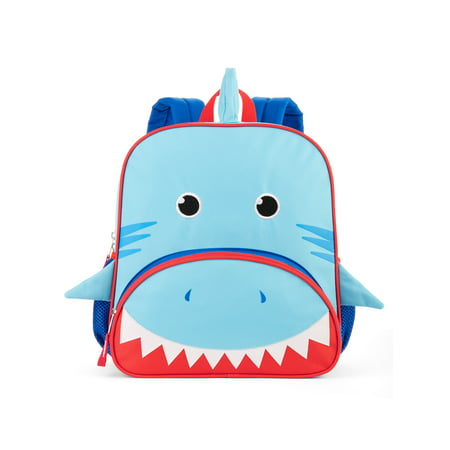 Wonder Nation Toddler Baby Shark Critter Backpack