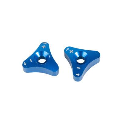 Yamaha Billet Fork - Billet WP Fork Adjuster Knobs Blue for Beta 300 RR 2013-2018