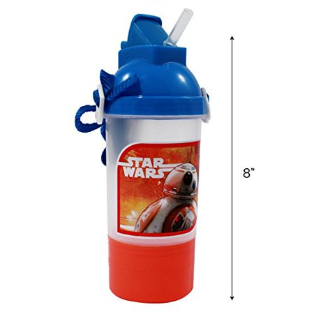 BB-8 Water Bottle Snack Container Kids BPA-FREE - image 2 de 3