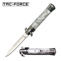 Tac-Force Assisted 3.75 in Blade Acrylic Handle