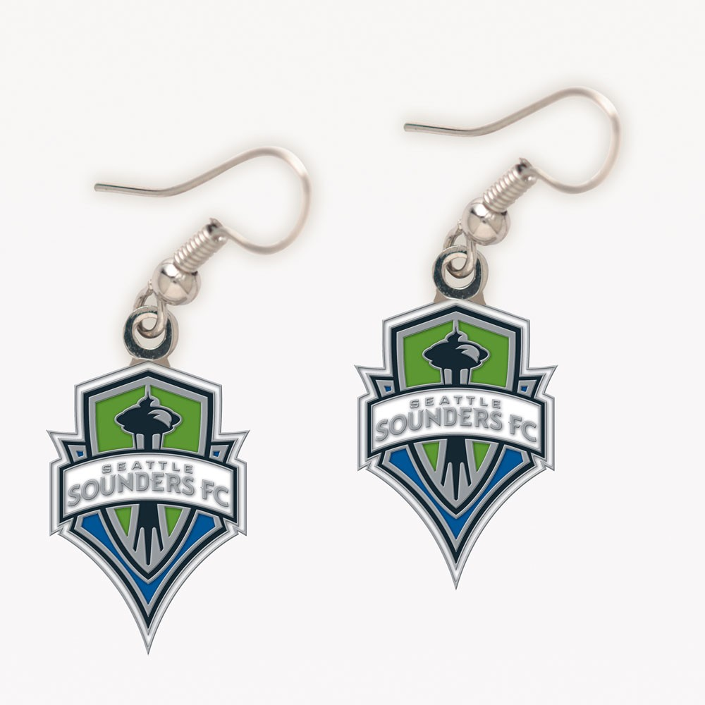 Seattle Sounders FC Official MLS 1 inch  Earrings by Wincraft