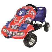 Go karts for kids hauck transformers optimus prime ride on pedal go kart fandeluxe Images