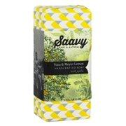 Saavy Naturals - Jojoba Handcrafted Soap Yuzu & Meyer Lemon - 8 oz.