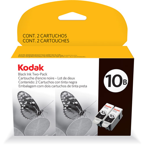 Kodak 10B Black Twin Pack