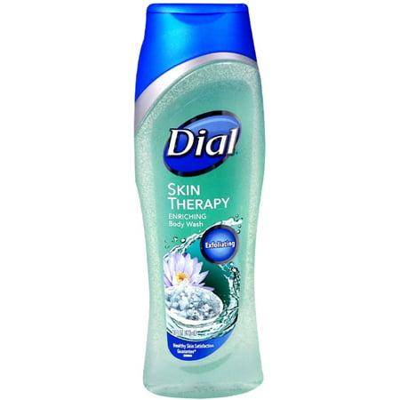 3 Pack - Dial Skin Therapy Enriching Body Wash, Himalayan Salt & Exfoliating Beads 16