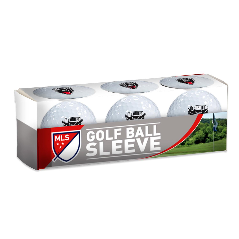 WinCraft D.C. United Golf Balls, 3 Pack