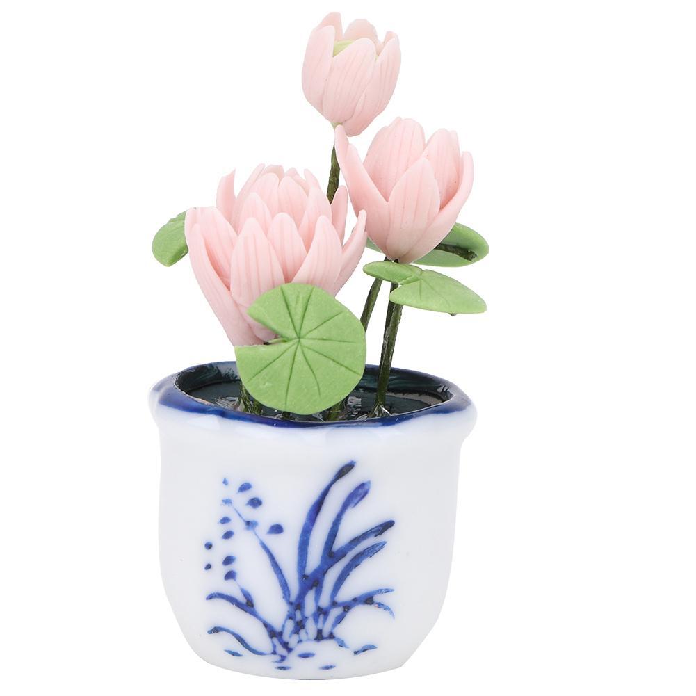 1:12 fait à la main Plant R maison de poupées miniature Fleurs Accessoire