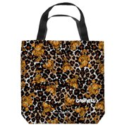 Garfield Wild Cat Tote Bag White 13X13