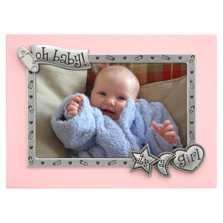 Malden It's A Girl Borderline Picture Frame