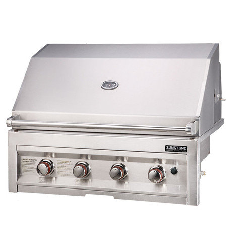 Sunstone Grills 34'' Gas Grill with 4 Burners