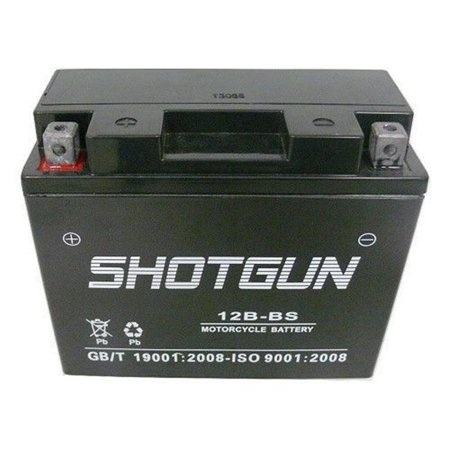 Shotgun 12B-BS-Shotgun672 Replacement Battery for Tuono 1000 R Models - 1 Year (Winchester Model 12 Riot Shotgun For Sale)