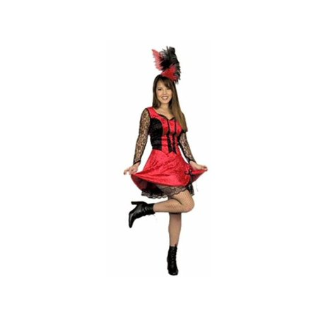 Adult Saloon Girl Dancer Costume](Plus Size Saloon Girl)