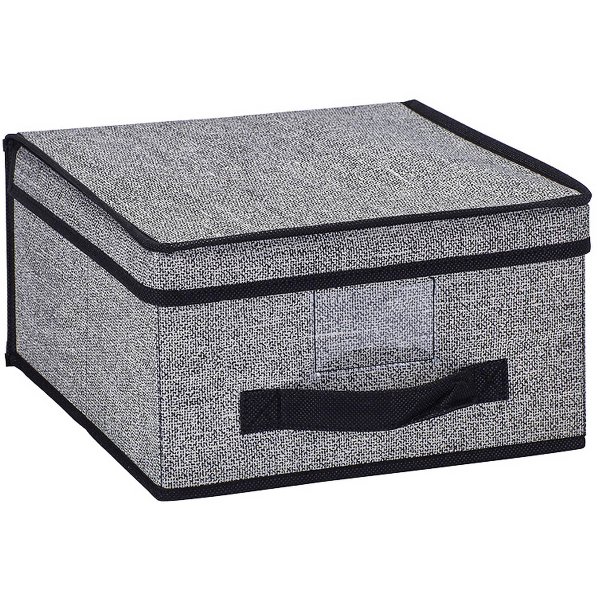 Simplify Medium Storage Box, Black