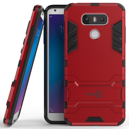CoverON LG G6 / G6 Plus Case, Shadow Armor Series Hybrid Kickstand Phone Cover