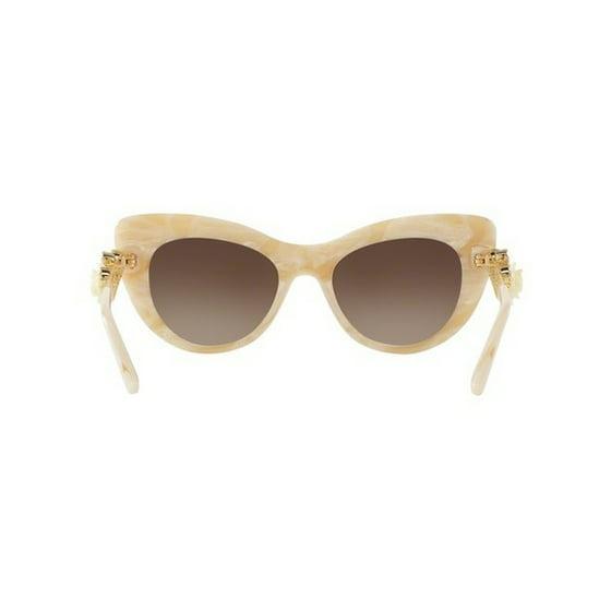 Womens 0DG4302B 308413 Sunglasses, White Horn/Browngradient, 50 Dolce & Gabbana