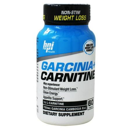 BPI Sports - Garcinia + Carnitine Non-Stim Weight Loss - 60