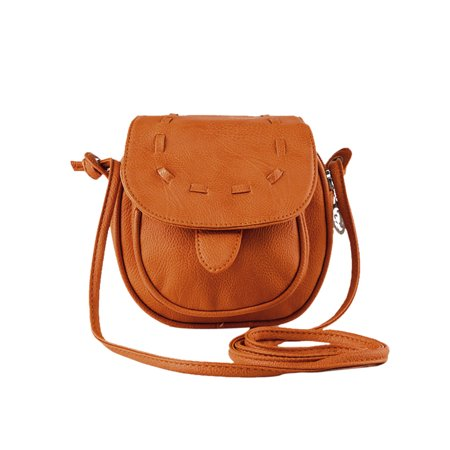 Women's Flaptop Stitching Leatherette Mini Crossbody Bags (Mini Cross Body Purse)
