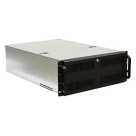 Norco 74799 Case Rackmount 4u Rpc-470 Black 3/0/[11] Bays 1usb Case Only ()