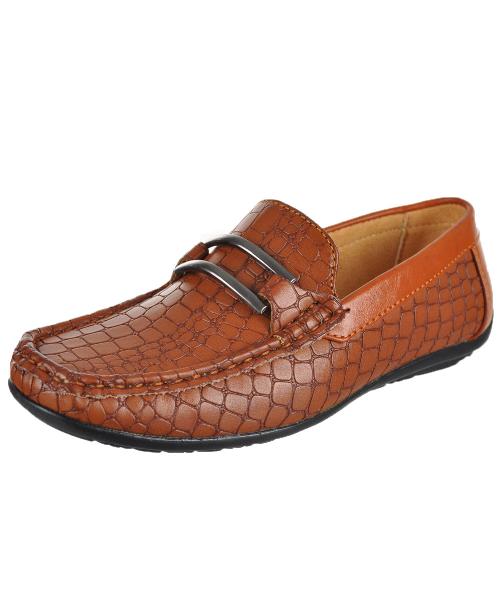 "Stacy Adams Boys' ""Lanzo"" Driving Loafers (Youth Sizes 13 7) by Stacy Adams"
