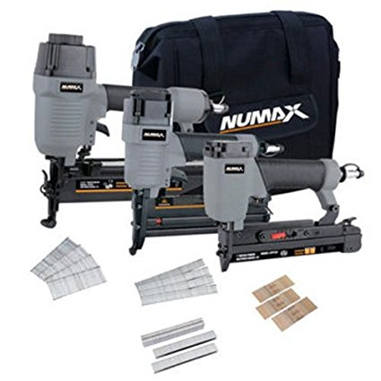 NuMax CS34PFNCB 3-Piece Finishing Combo Kit