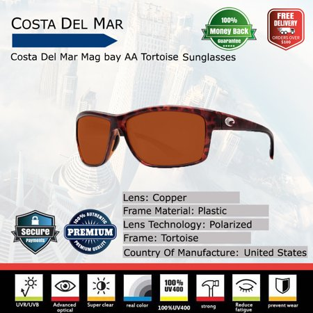5f8a0bbb7d ... UPC 097963521956 product image for Costa Del Mar Mag bay AA Tortoise  Sunglasses