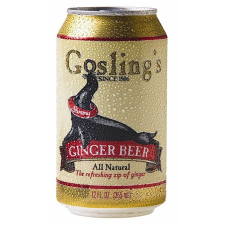 Goslings Ginger Beer 12 Oz Cans   Pack Of 24