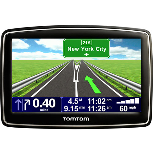 "TomTom XXL 550M 5.0"" Portable GPS w/ Lifetime Map Updates"
