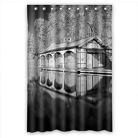 MOHome Sports Posters Shower Curtain Waterproof Polyester Fabric Size 48x72 Inches