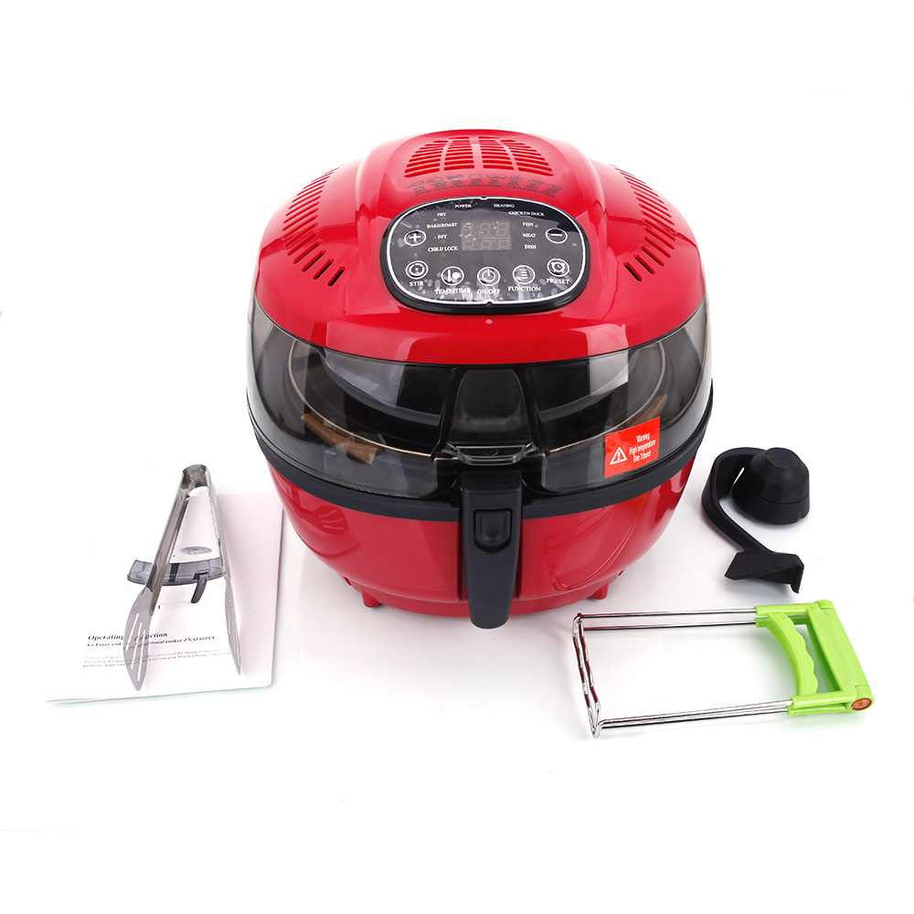 Ktaxon 1400W Electric Air Fryer W/ Cooking Presets, Tempe...