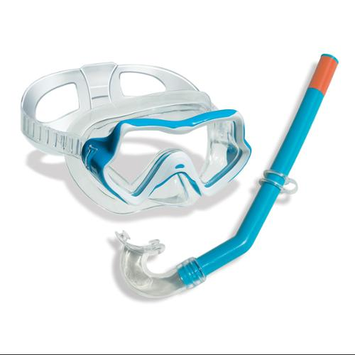 Swimline Kid's Thermotech Mask Goggles Swimming Pool Beach Ocean Snorkel 99235