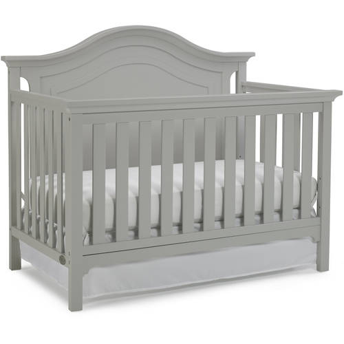 Ti Amo Catania 4-in-1 Convertible Crib, Misty Gray