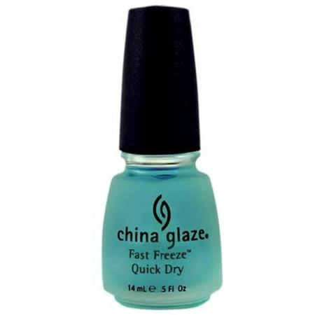 China Glaze Fast Freeze Quick Dry, 0.5 fl - Dry Glaze