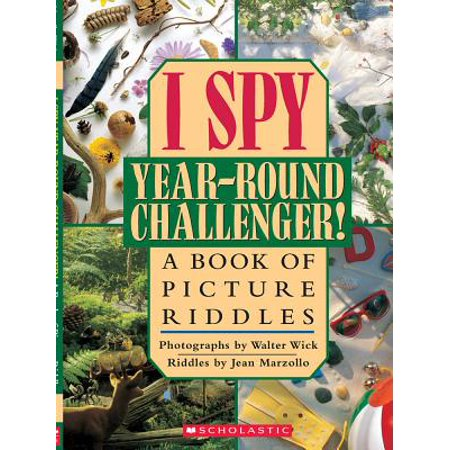 I Spy Year Round Challenger : A Book of Picture Riddles](Halloween Riddles Mysterious Griddlers)