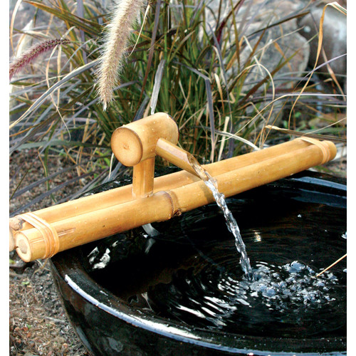 Bamboo Accents 12-in. Classic Spout and Pump Fountain Kit