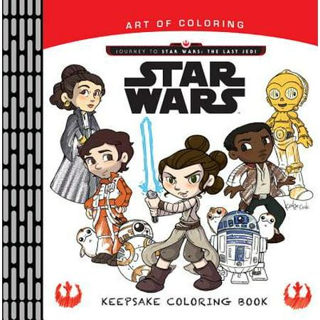 Art of Coloring Journey to Star Wars: The Last Jedi: Keepsake Coloring (Jedi Art)