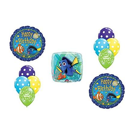 Disney Pixar Finding Nemo Happy Birthday Balloon Bouquet Disney Pixar Finding Nemo Happy Birthday Balloon Bouquet