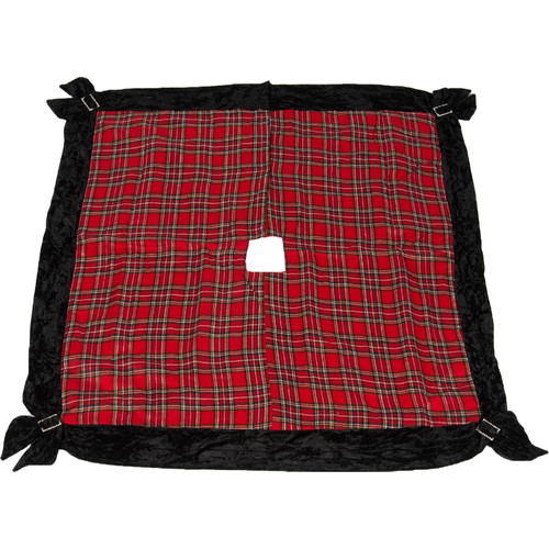 Selections by Chaumont Holiday Plaid Square Tree Skirt