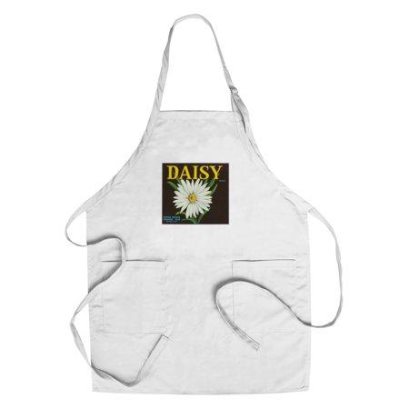 Daisy Brand Citrus Crate Label - Covina, CA (Cotton/Polyester Chef's Apron) (Party City Covina Ca)