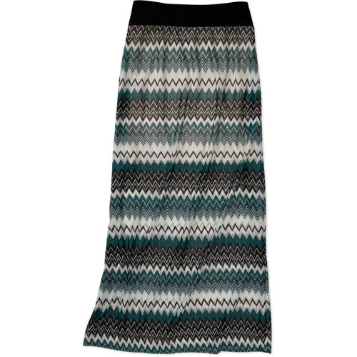 Women's Lined Crochet Knit Maxi Skirt