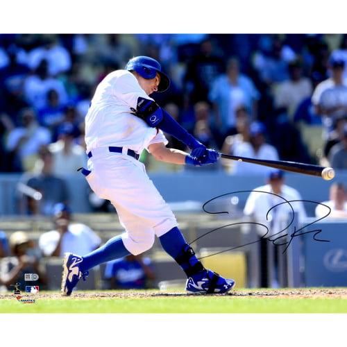 """Joc Pederson Los Angeles Dodgers Fanatics Authentic Autographed 16"""" x 20"""" White Hitting Photograph - No Size"""
