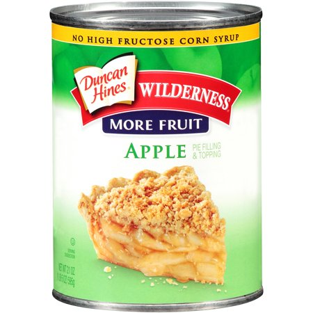 Wilderness More Fruit Apple Pie Filling or Topping, 21 oz