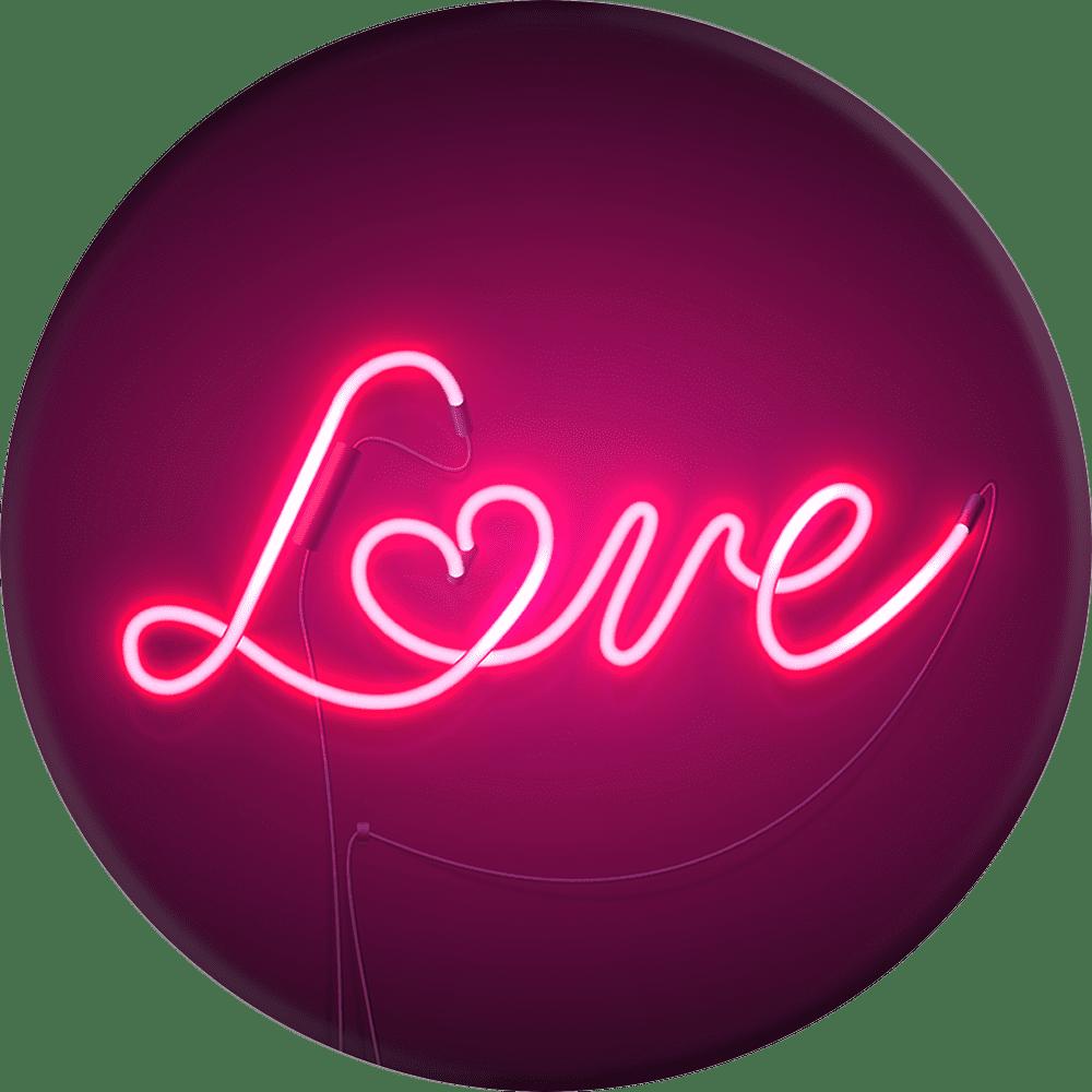 Love Sign Popsocket Phone Grip