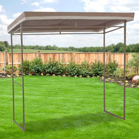 Garden Winds Replacement Canopy Top For Flat Roof Grill Gazebo Riplock 350