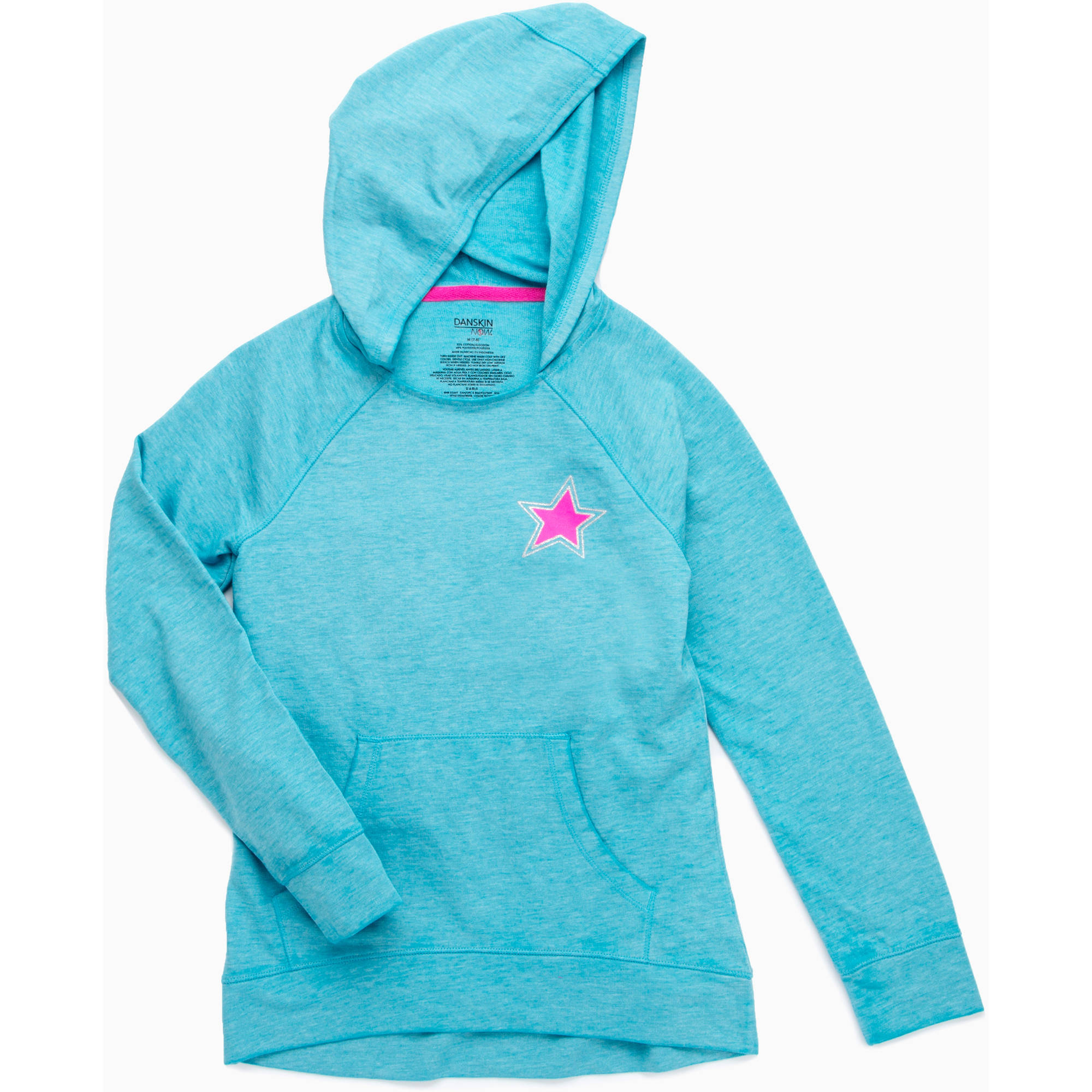 Danskin Now Girls' Burnout Hoodie